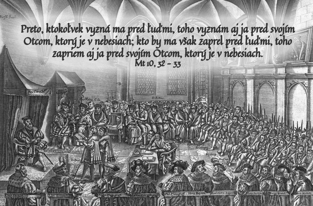 490. výročie Augsburského vyznania