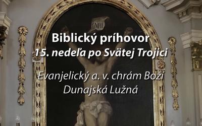 Biblický príhovor